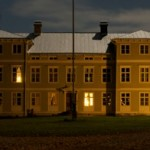 Slottet nattetid