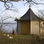 Lusthus för bröllopspar Björnö
